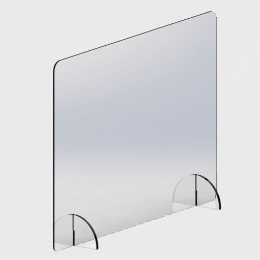 Smittevernskjerm for disk, 100*67 cm