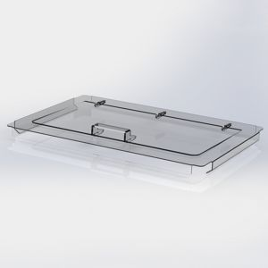 Lokk til plastkasser bakeri/IFCO 60x40cm