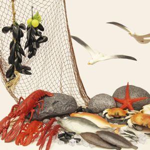 Dekorpakke FISK & SKALLDYR