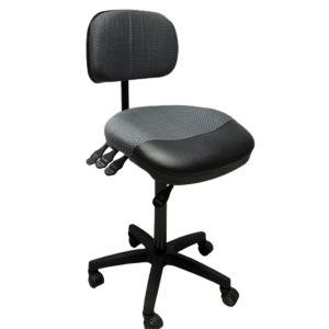 Kassastol med hjul