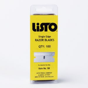 Reserveblader Listo kniver, 100 pk