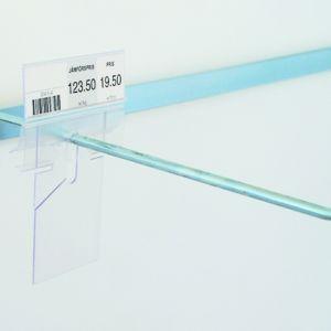 Balansedel Etikettholder for spydoppheng, 26*80mm, 100 pk