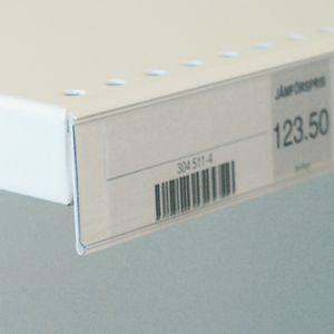 Etikettlist med magnet 39*210mm, 25 pk