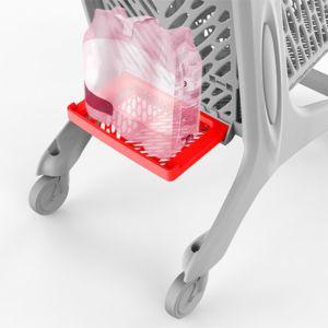 Rabtrolley tilbehør - Flaskehylle til MIDI/MAXI