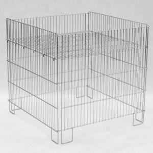 Foldbar eksponeringskurv 80x80x77 cm