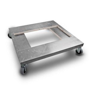 HALVPALL - Hjulsett/bunn grå