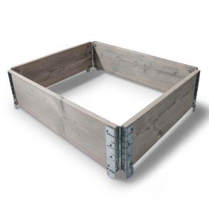 HALVPALL - Pallekarm grå