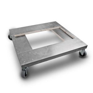 HELPALL - Hjulsett/bunn grå