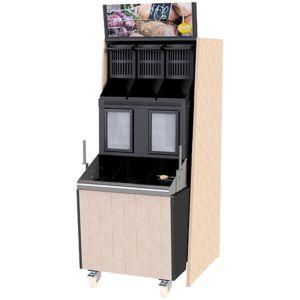 Skap til løsvektsautomat M103