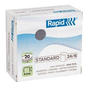 Stifter 24/6 til RAPID R20EX og F6, 5000 stk